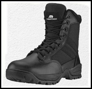 Maelstrom Men's Tac Force Waterproof Tactical Boots with Zipper