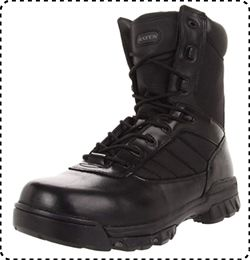 Bates Tactical Boots with Zippers for Men & Women
