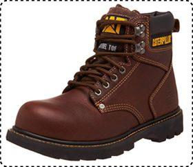 Caterpillar Second Shift Steel Toe Tactical Boot