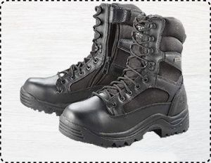 "HQ ISSUE 8"" Side Zip - Best Tactical Waterproof Boots for Men"