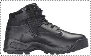 "5.11 Tactical A.T.A.C. 6"" Side Zipper Boots for Female"