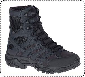 """Merrell Moab 2 8"""" Tactical - Best 8 Inch Hiking Boots"""