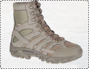"Merrell Moab 2 8"" - Best Tactical Boots for Wide Feet"