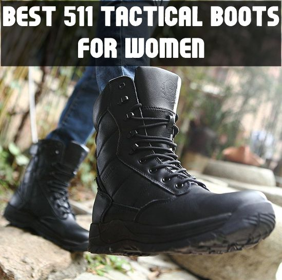 Best Tactical Boots for Women - 5.11 Boots