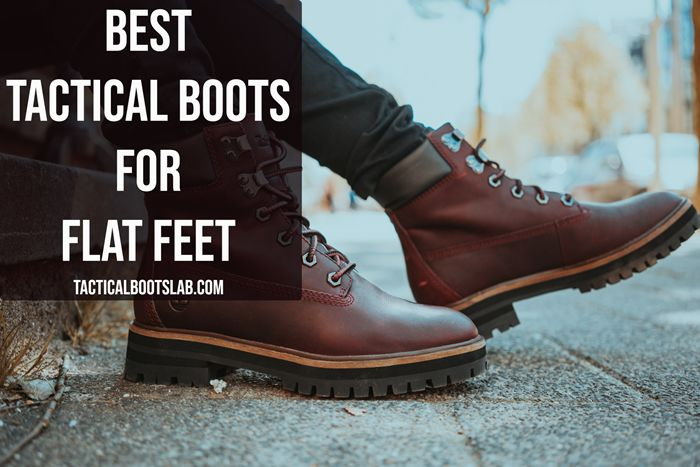 The Best Tactical Boots for Flat Feet [REVIEWS]