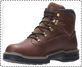 Wolverine Buccaneer - Tactical Work Boots for Flat Feet