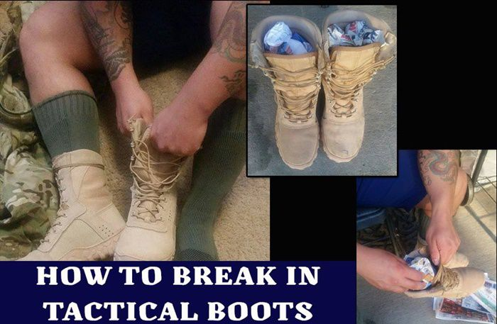 How to Break in Your Tactical Boots