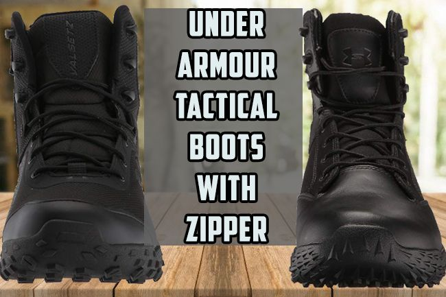 Under Armour Valsetz RTS & Stellar Tac Zipper Tactical Boots Review