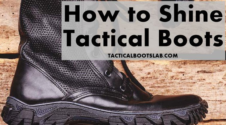 How to Shine Tactical Boots | Get Mirror Shine [Best Guide]