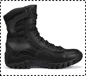 Tactical Research TR Khyber Side-Zip Tactical Boots