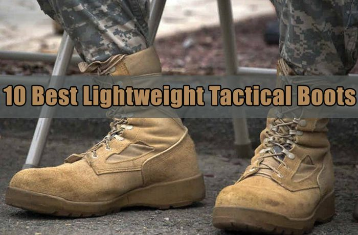 10 Best Lightweight Tactical Boots For You