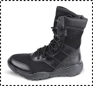 Wwoodtomlinson Lightweight Suede Leather Tactical Boots