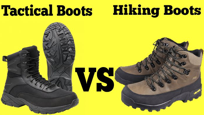 Tactical Boots VS Hiking Boots | Detailed Comparison
